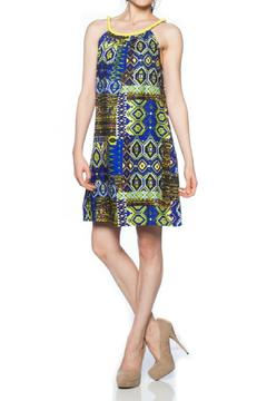 Sweet Sinammon Blue Pizzazz Dress - Product List Image