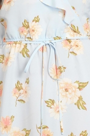 Sweet Wanderer Baby-Blue Floral Dress - Other