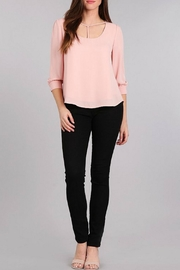 Sweet Wanderer Blush Top - Product Mini Image
