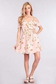 Sweet Wanderer Light-Pink Floral Dress - Product Mini Image
