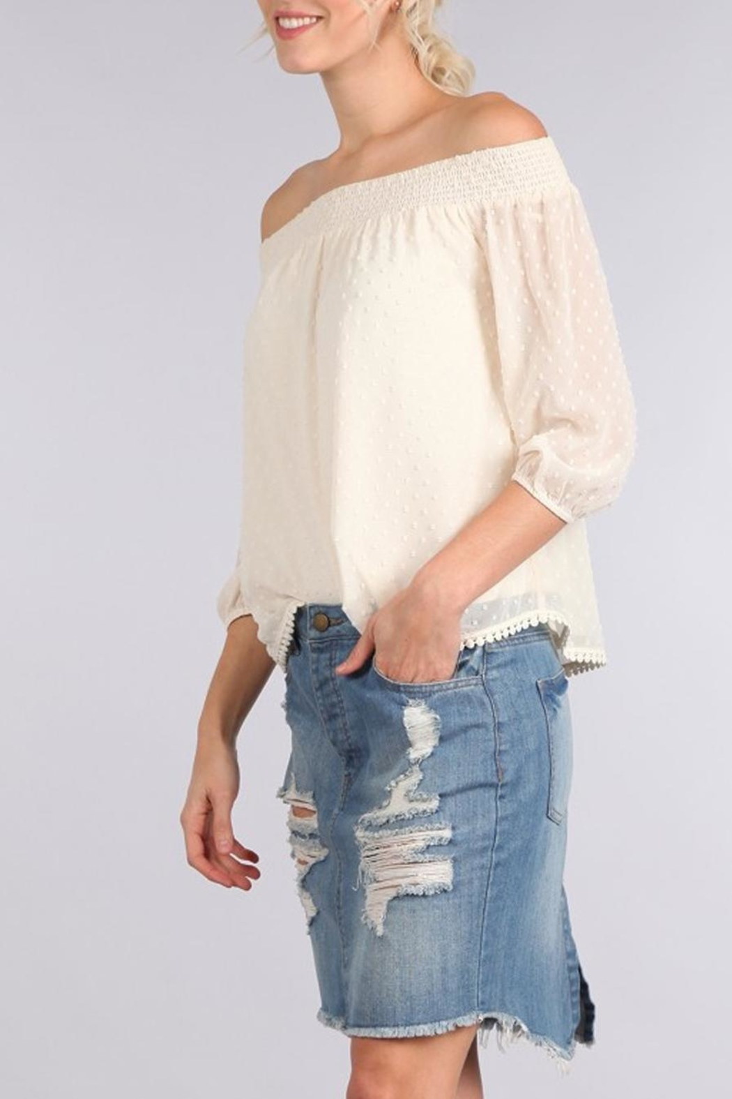 Sweet Wanderer Penelope Blouse - Front Cropped Image