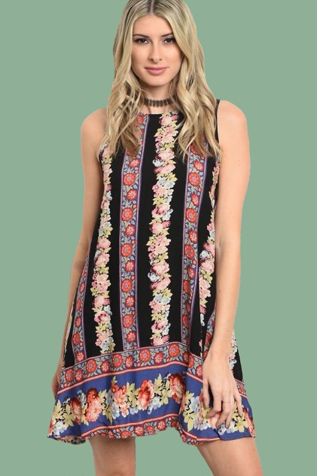 People Outfitter Sweetest Print Dress - Main Image