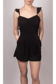 Cefian Sweetheart Black Romper - Product Mini Image