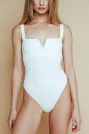 Olivaceous Sweetheart Bust Bodysuit - Product Mini Image