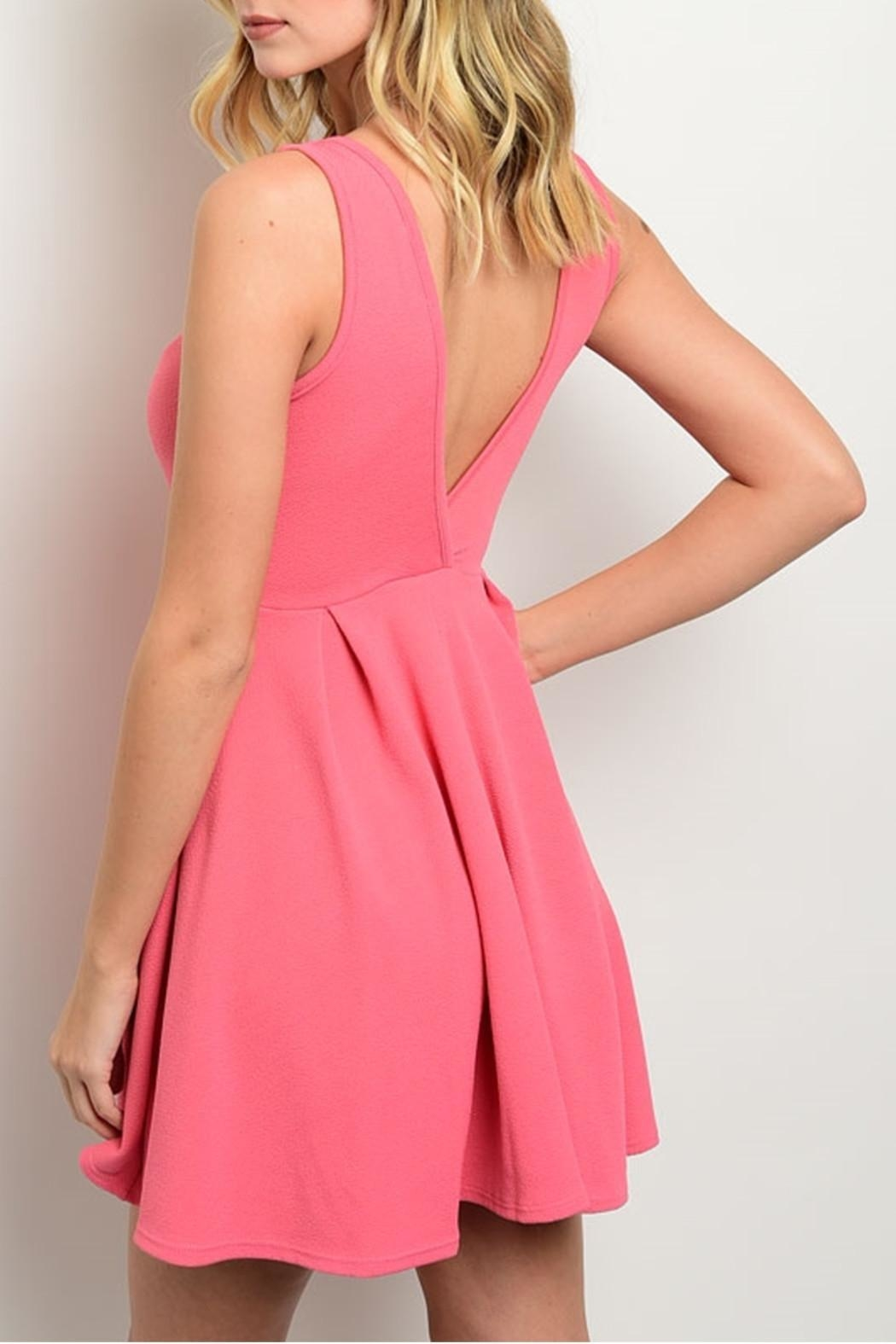 Trac Sweetheart Dress - Front Full Image