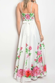 No Label  Sweetheart Floral Maxi - Front full body