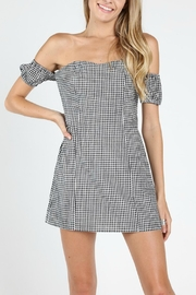 Pretty Little Things Sweetheart Gingham Dress - Product Mini Image