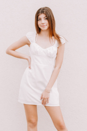 Le Lis Sweetheart Neck Mini Dress - Product Mini Image