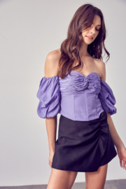 Do + Be  Sweetheart Neckline OTS Top - Product Mini Image