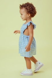 Lil Lemons Sweetheart Pinafore Dress - Side cropped
