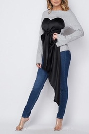 Athina Sweetheart Sweater - Front full body