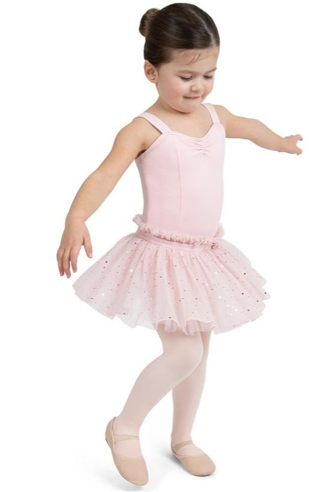 Capezio Sweetheart Tank Dress - Front Cropped Image