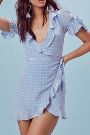 FOR LOVE & LEMONS Sweetheart Wrap Dress - Product Mini Image
