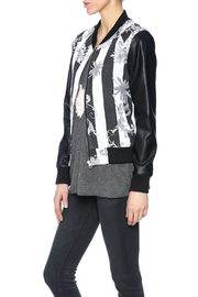 SWEEWE Print Bomber Jacket - Front cropped