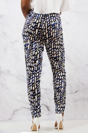 SWEEWE Printed Crepe Pants - Front full body