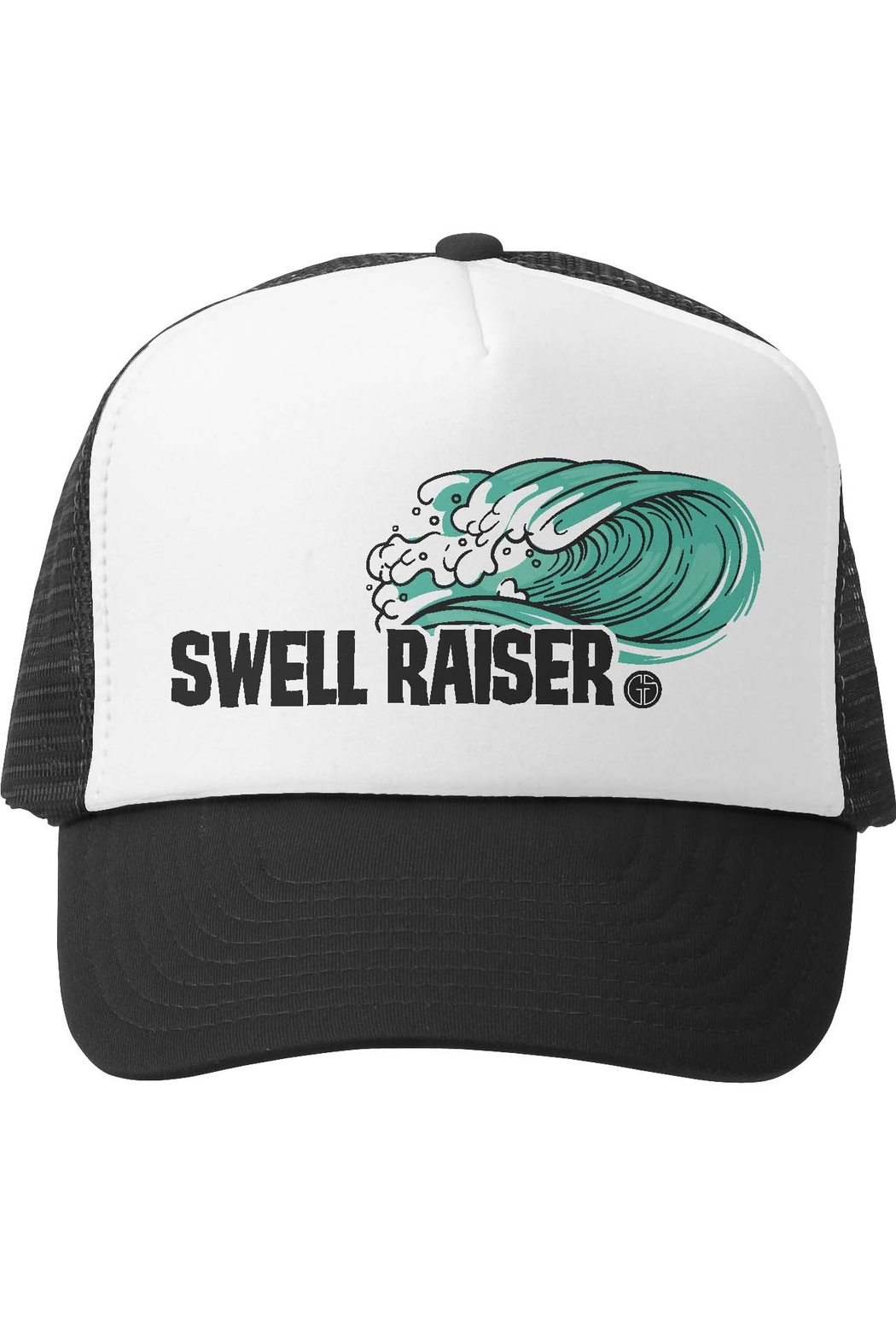 Grom Squad Swell Raiser Trucker Hat - Front Cropped Image