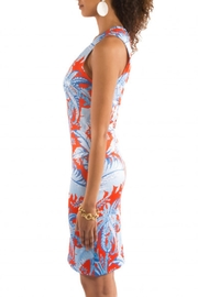Gretchen Scott Swerve Palm Dress - Front full body