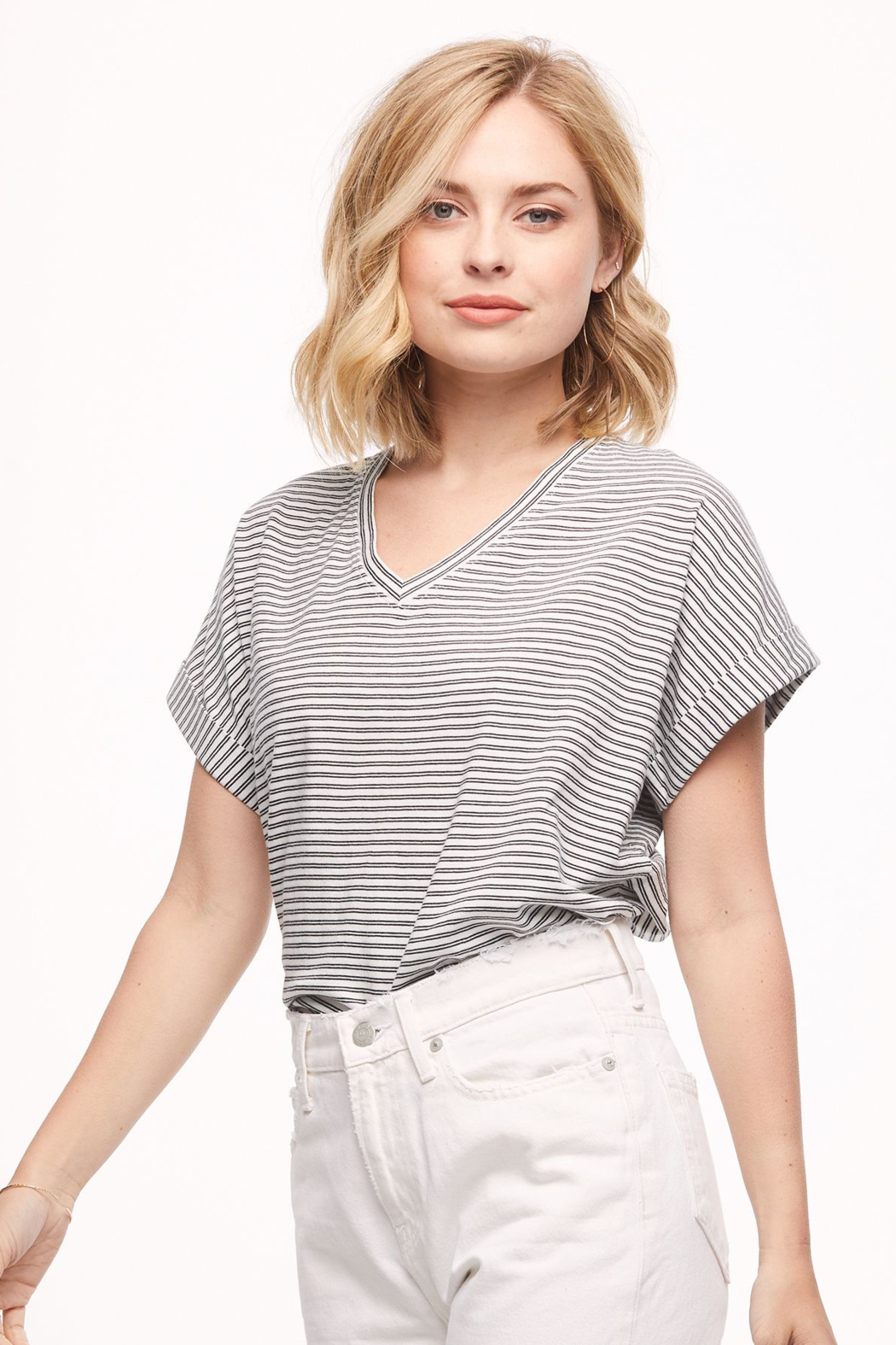 Able Sweta Dolman Tee - Front Cropped Image
