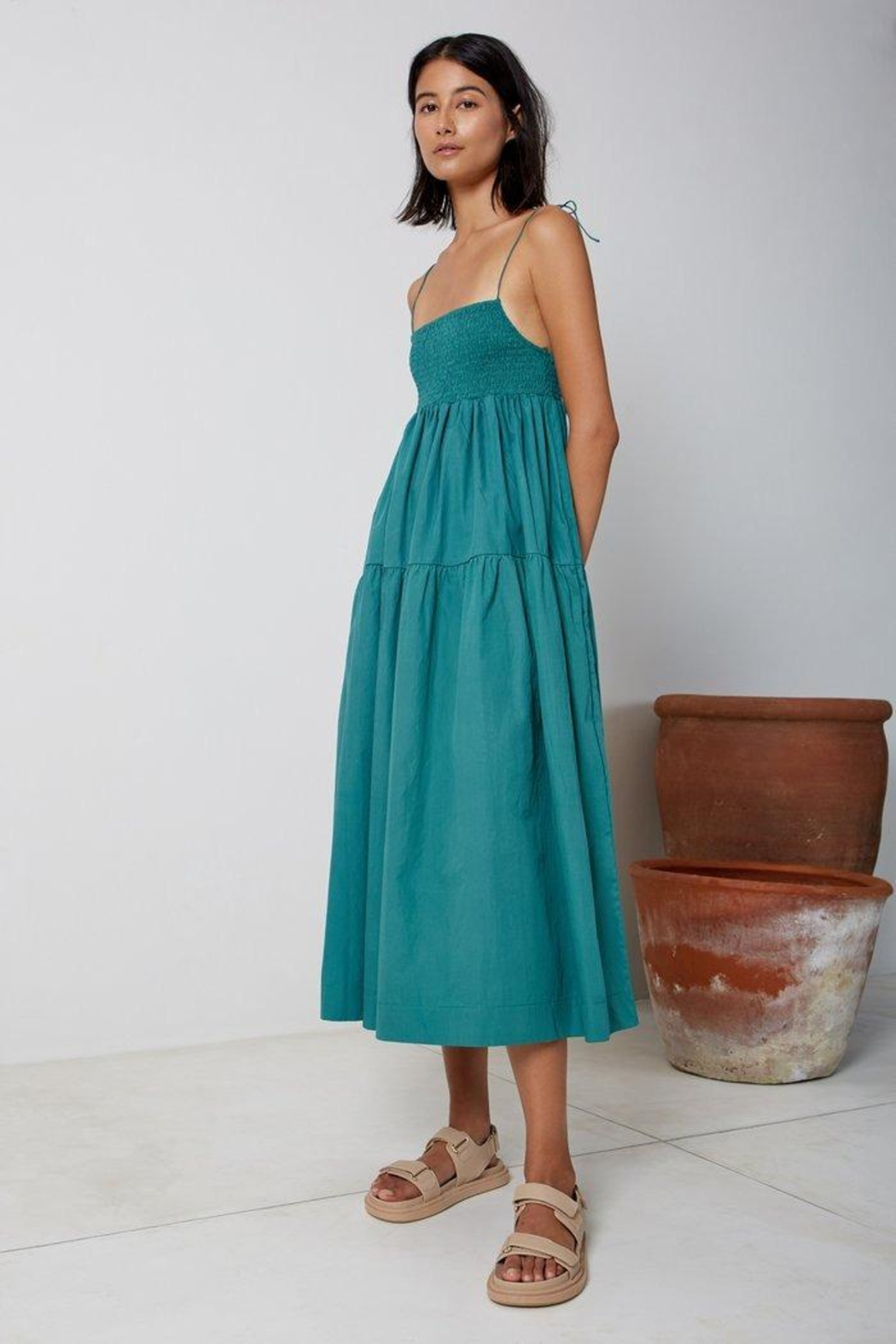 SWF A Line Dress - Front Full Image