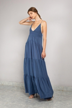 SWF Tiered Plunge Dress - Product List Image