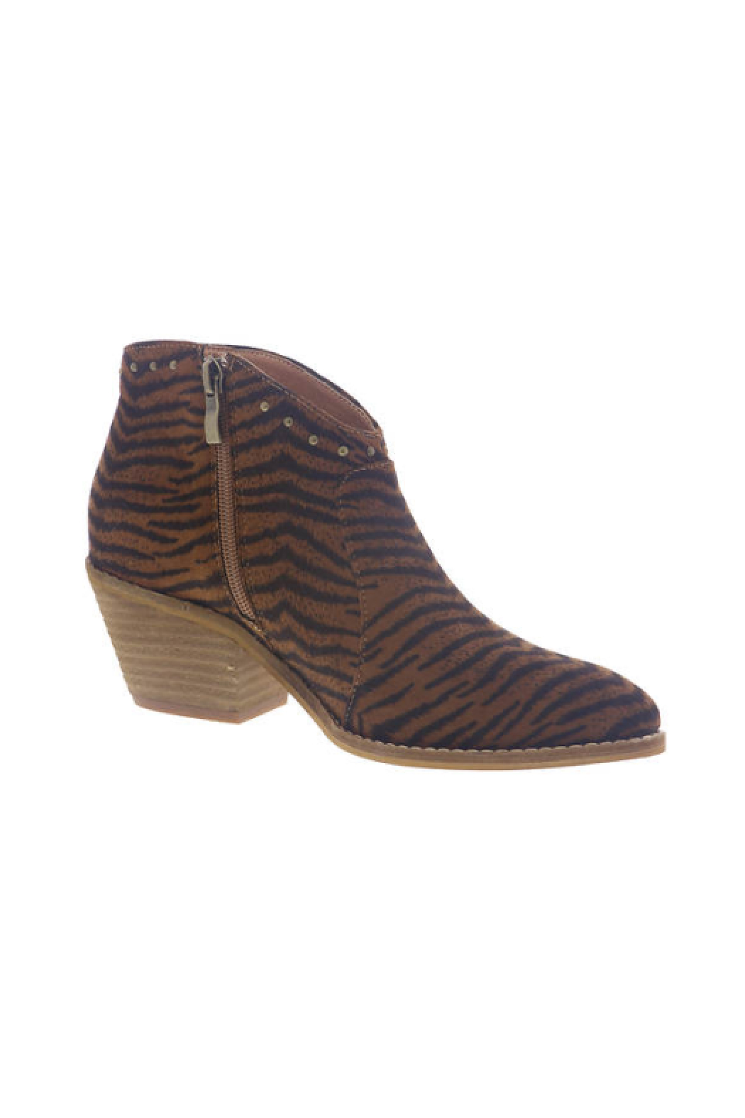 Corkys Swifton Tiger Bootie - Front Full Image