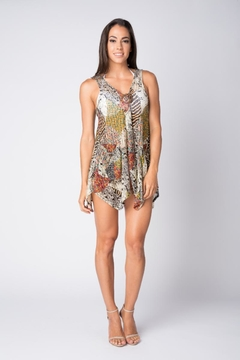 Shoptiques Product:  Swim suite cover -up/ tunic  with pockets