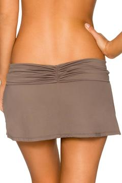 SWIM SYSTEMS Pebble Banded Skirt - Alternate List Image