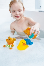Hape Swimmer Teddy Wind-Up Toy - Front full body