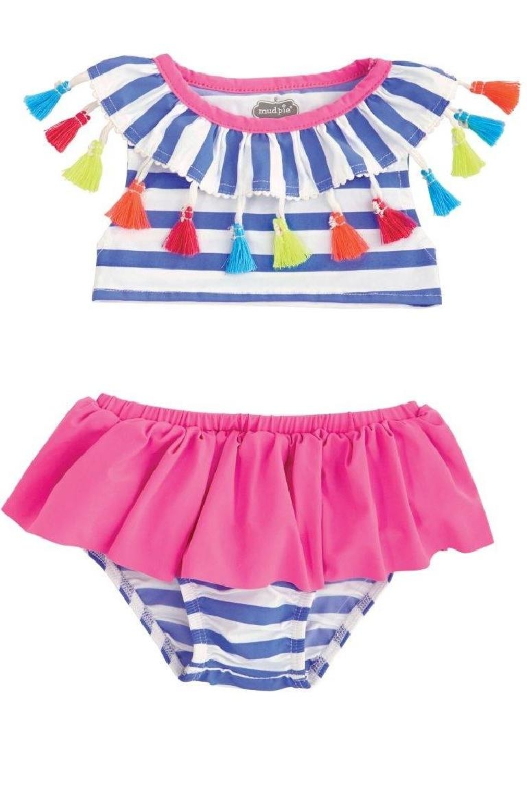 Mud Pie  Swimsuit 2 Piece - Front Cropped Image