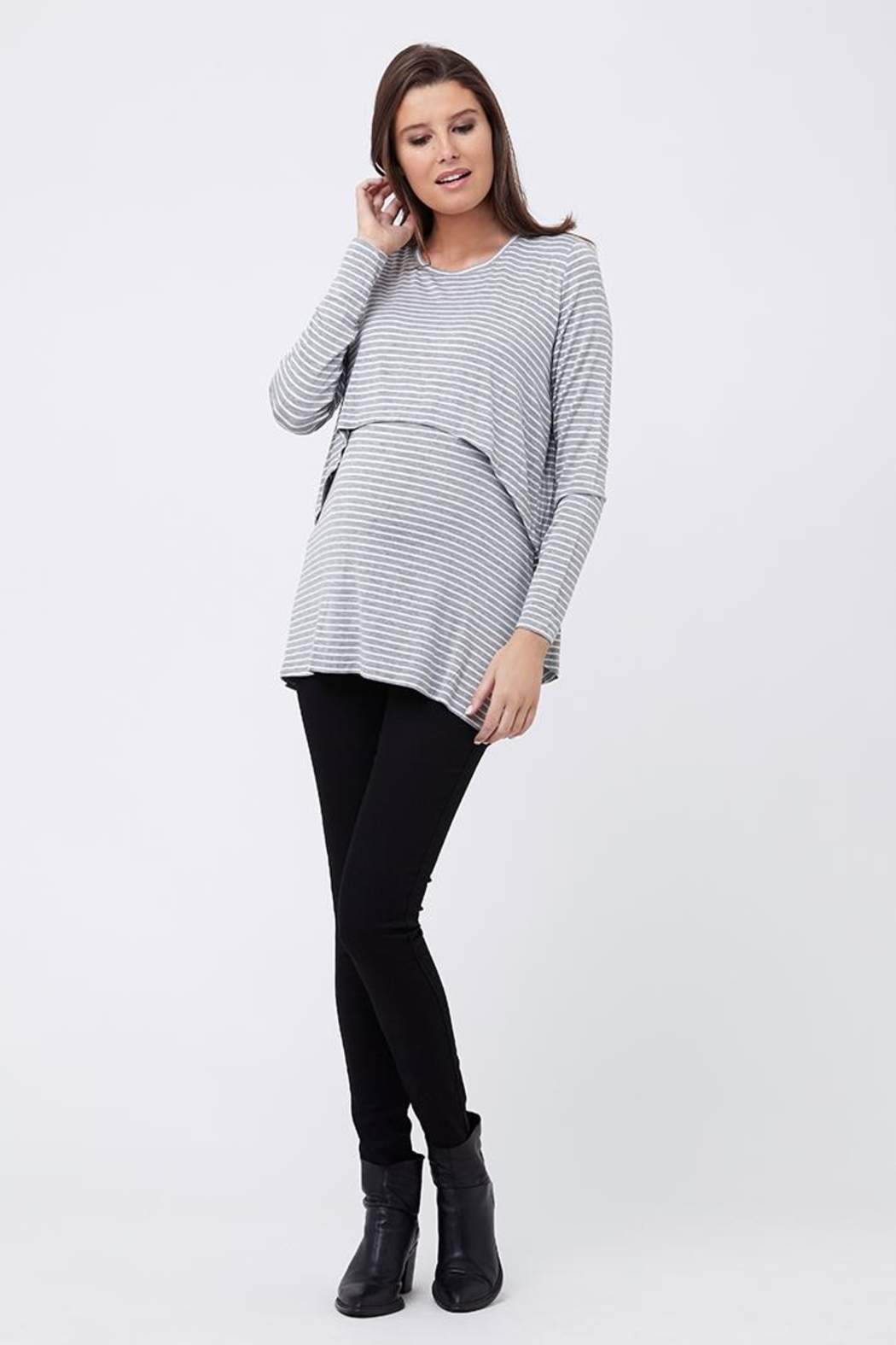 Ripe Maternity Swing Back Top - Side Cropped Image