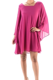 Aryeh Bell-Sleeve Swing Dress - Product Mini Image