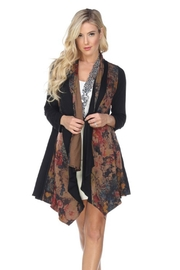 Aris A Swing Floral Cardigan - Product Mini Image