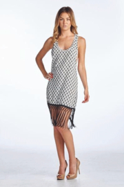 Reborn Swing tank Dress with Crochet Fringe - Product Mini Image