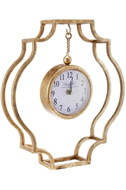 A&B Home Swinging Clock - Front cropped