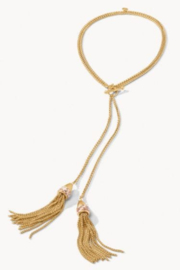 Spartina 449 Swinging Tassels Necklace 34