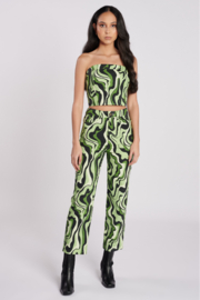Another Girl Swirl Print Trouser - Product Mini Image