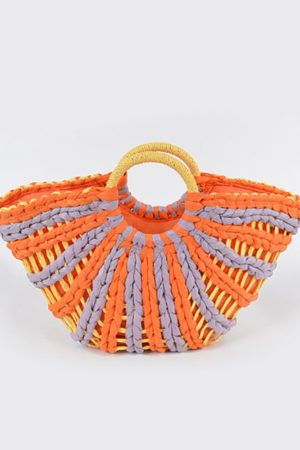 H&D Accessories Swirl Straw Bag - Main Image
