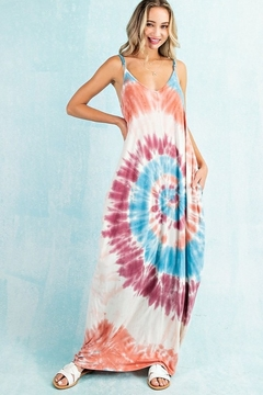 143 Story Swirling Tie Dye Maxi Dress - Product List Image
