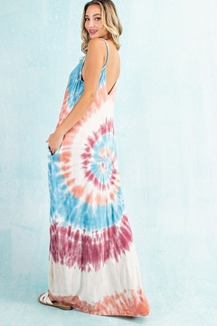 143 Story Swirling Tie Dye Maxi Dress - Alternate List Image
