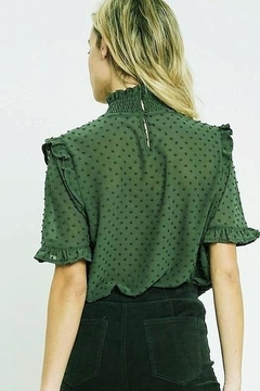 Wishlist Swiss Dot Smocked Top - Alternate List Image