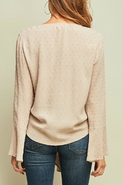Entro Swiss Dot Top - Back cropped