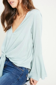 Wishlist Swiss Miss Blouse - Back cropped