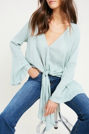 Wishlist Swiss Miss Blouse - Front cropped