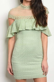 No Label  Swiss Mock Dress - Front cropped