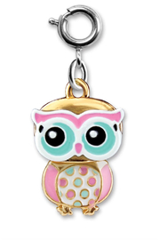 Charm It Swivel Owl Charm - Product Mini Image