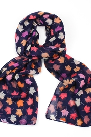 Pink Poodle Boutique Sycamore Leaf Scarf - Product Mini Image