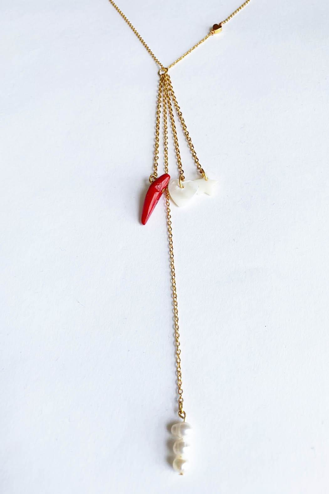 Aioty Sydney Necklace Pearls - Main Image