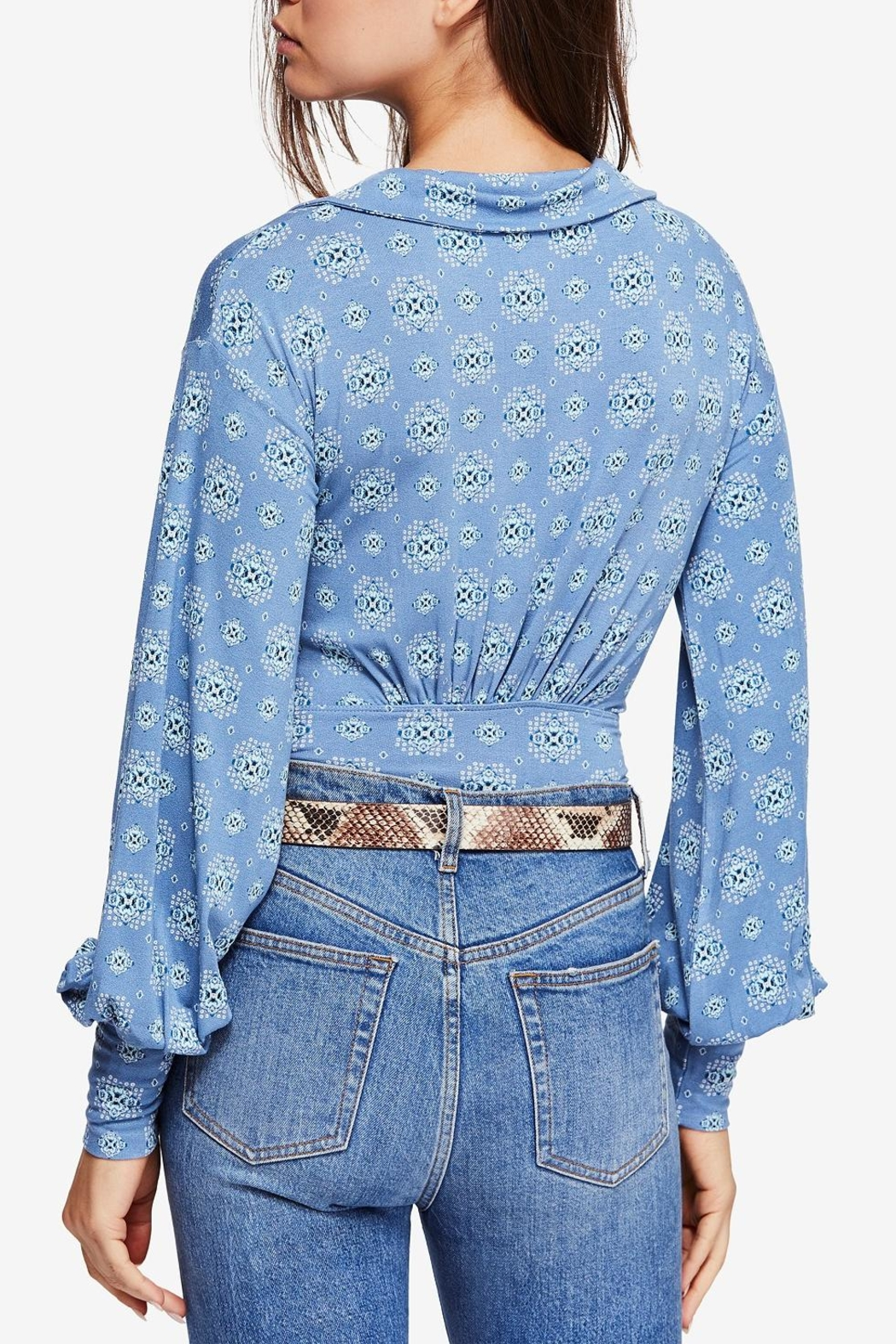 Free People Sydney Printed Top - Front Full Image
