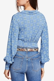 Free People Sydney Printed Top - Front full body