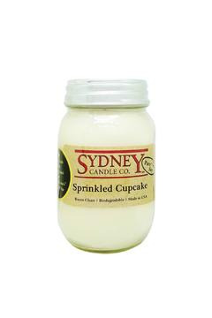 Shoptiques Product: Sprinkled Cupcake Candle